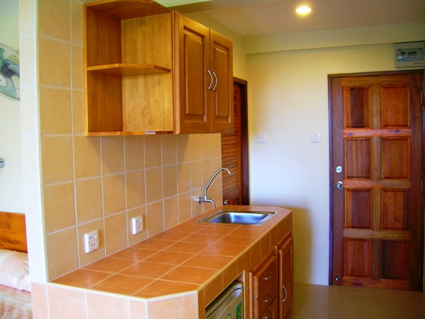 Kitchen in Rawai apartments