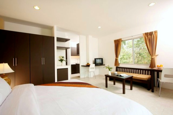 Studio apartments in Chalong
