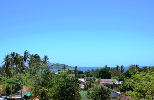 Sea view from Rawai apartments